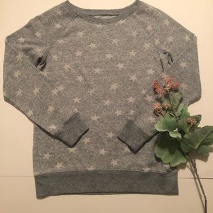 Girls star crew neck☆